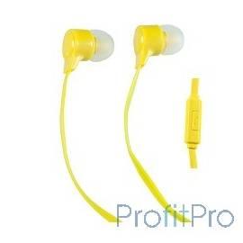 Perfeo наушники внутриканальные c микрофоном HANDY желтые PF-HND-YLW