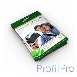 Perfeo PF-GLA4-230/50 Бумага Perfeo глянцевая 50л, А4 230 г/м2