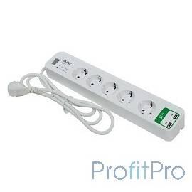APC PM5U-RS сетевой фильтр 1,83м, белый