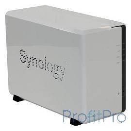 Synology DS216se Сетевое хранилище 2xHDD SATA(3,5&apos&apos), 800MhzCPU/256Mb DDR3/RAID0,1/ 2xUSB/1GigEth/iSCSI/2xIPcam(up to 5