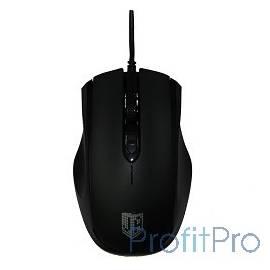 Jet.A Comfort OM-U50 Black USB Проводная мышь, 800/1200/1600dpi, 3 кнопки
