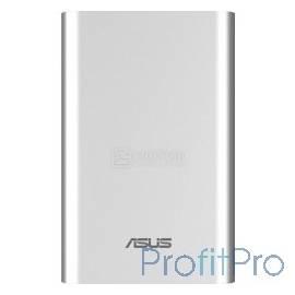 Мобильный аккумулятор Asus ZenPower ABTU005 Li-Ion 10050mAh 2.4A серебристый 1xUSB (90AC00P0-BBT027/90AC00P0-BBT077)
