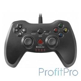 DEFENDER Archer USB-PS2/3, Проводной геймпад, 12 кнопок, 2 стика [64248]