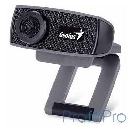 Genius FaceCam 1000X V2 Black HD 720P/MF/USB 2.0/UVC/MIC [32200223101]