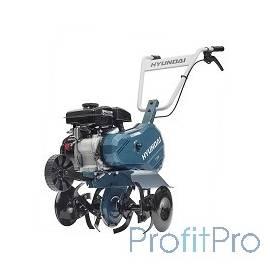 HYUNDAI [T 500] Культиватор бензиновый двигатель HYUNDAI IC90 4-х такт, 3,5 л.с./87 см3, скорость 1 вперед, ширина 45 см, глуб