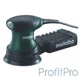 Metabo FSX 200 Intec Эксцентриковая шлифовальная машина [609225500] 240 Вт, 125мм, 9500 об/мин, вес 1.3 кг