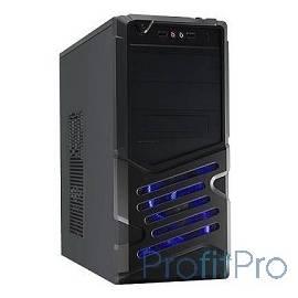 PowerCool (8822BK) Корпус 8822BK-500W (Midi Tower, Black, ATX 500W-120mm, 24+8pin)