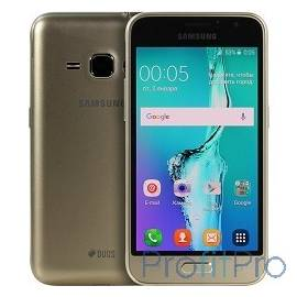 "Samsung Galaxy J1 (2016) SM-J120F gold DS (золотой) 4.5"",800x480,5 МП,8 Гб,3G, 4G LTE, Wi-Fi, Bluetooth, GPS, ГЛОНАСС,Android 5"
