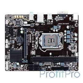 Gigabyte GA-H110M-S2 RTL S1151, H110, PCI-E, DDR4, D-Sub, ALC887, GBL, mATX