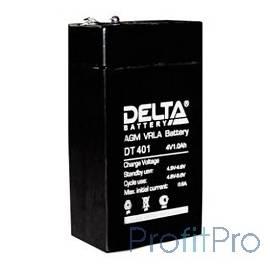 Delta DT 401 (1 А\ч, 4В) свинцово- кислотный аккумулятор