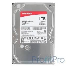 "1TB Toshiba (HDWD110UZSVA) P300 SATA 3, 7200 rpm, 64Mb buffer, 3.5"""