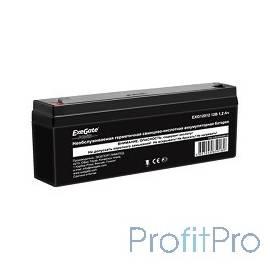 Exegate EP249948RUS Аккумуляторная батарея Exegate Power EXG12012, 12В 1.2Ач, клеммы F1