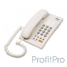 RITMIX RT-330 white Телефон проводной Ritmix RT-330 черный [повторный набор, регулировка уровня громкости, световая индикац]