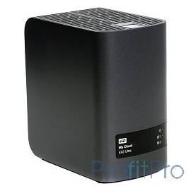"""Western Digital WDBSHB0120JCH-EEUE My Cloud EX2 Ultra 12Tb Сетевой накопитель 2xHDD 3,5"""", 2xUSB 3.0, установлено 2xHDD по 6000Г"""