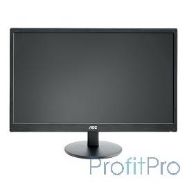 "LCD AOC 23.6"" E2470SWH/(01) черный TN+film 1920x1080, 1 ms, 170°/160°, 250 cd/m, 100M:1, +DVI, +HDMI, D-Sub"