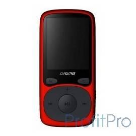 """363328 Плеер Flash Digma B3 8Gb красный/1.8""""/FM/microSD"""