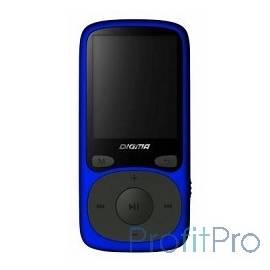 """363324 Плеер Flash Digma B3 8Gb синий/1.8""""/FM/microSD"""