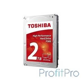 "2TB Toshiba (HDWD120UZSVA) P300 SATA 3, 7200 rpm, 64Mb buffer, 3.5"""