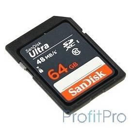 SecureDigital 64Gb SanDisk SDSDUNB-064G-GN3IN SDHC Class 10, UHS-I