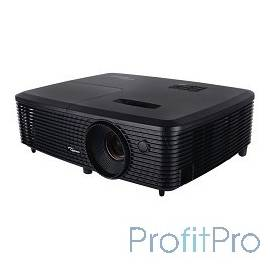 Optoma S321 Проектор DLP, 3D Ready, SVGA (800*600), 3200 ANSI Lm, 22000:1 8000ч/5000 (Eco/bright)+/- 40 vertical VGA IN x1 Comp