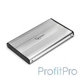 "Gembird EE2-U2S-5-S Внешний корпус 2.5"" Gembird EE2-U2S-5-S, серебро, USB 2.0, SATA, металл"