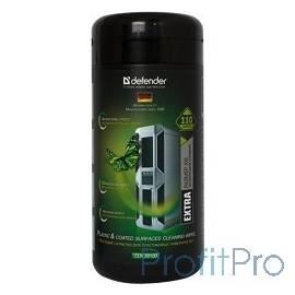 DEFENDER CLN 30100 Pro Влажные чистящие салфетки в пласт. тубе, 110шт., термобонд