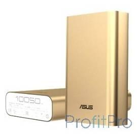 Мобильный аккумулятор Asus ZenPower ABTU005 Li-Ion 10050mAh 2.4A золотистый 1xUSB (90AC00P0-BBT028/078)