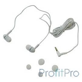 Philips SHE1450WT/51 внутриканальные 10-22000Гц 1,2м 3.5мм 103дБ сменные амбушюры белые SHE1450WT/51