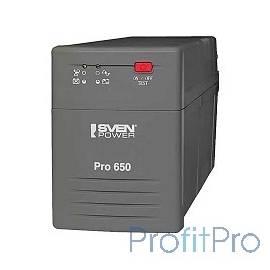SVEN Источник бесперебойного питания Pro 650 (LCD, USB) SV-013844