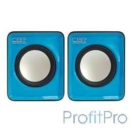 CBR CMS 90, Blue, динамики 4,5 см., USB
