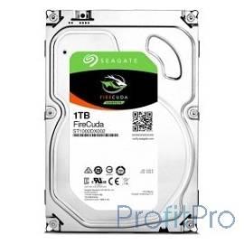1TB Seagate Firecuda (ST1000DX002) SATA 6.0Gb/s, 7200 rpm, 64mb, гибридный HDD/SSD, 3.5&apos