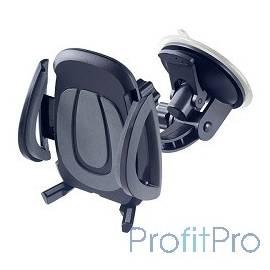 "Perfeo PH-520 Автодержатель для смартфона до 6,5""/ на стекло/ торпедо/ супер присоска/ черный+серый"