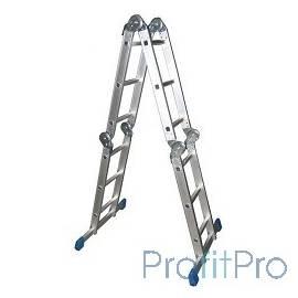 Лестница-трансформер СИБИН алюминиевая 4 x 3 ступ [38851]