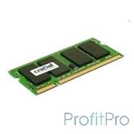 Crucial DDR3 SODIMM 2GB CT25664BF160B PC3-12800, 1600MHz