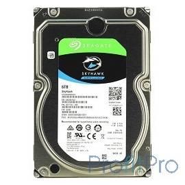 6TB Seagate SkyHawk (ST6000VX0023) SATA 6 Гбит/с, 7200 rpm, 256 mb buffer, для видеонаблюдения