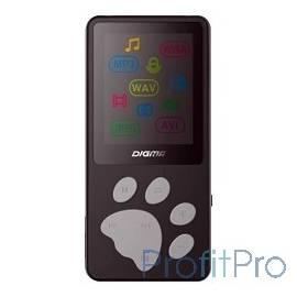 "386646 Плеер Flash Digma S3 4Gb черный/серый/1.8""/FM/microSD"