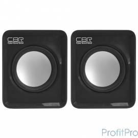CBR CMS 90, Black динамики 4,5 см, USB, 60Дб, 1,5ВТх2