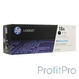 HP CF218A Картридж 18A, Black LaserJet Pro M104/MFP M132 (1400стр)