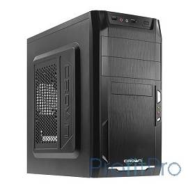 CROWN Корпус MiniTower CMC-400 black mATX (CM-PS450office)