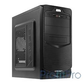 CROWN Корпус MiniTower CMC-401 black mATX (CM-PS450office)