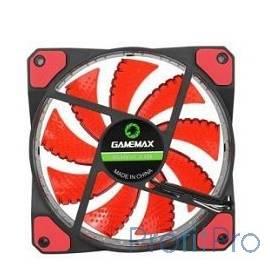 GameMax Вентилятор для компьютера 120х120х25 GameMAX, GMX-GF12R, 12В,(подшипник скольжения),в пластиковой уп