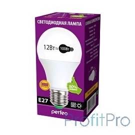 Perfeo светодиодная (LED) лампа PF-A60 12W 3000K E27 [PF-A60/12W/3K/E27]