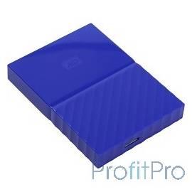 "WD Portable HDD 1Tb My Passport WDBBEX0010BBL-EEUE USB3.0, 2.5"", blue"