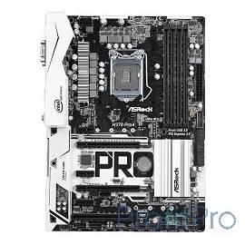 ASRock H270 PRO4 Материнская плата Soc-1151 Intel H270 4xDDR4 ATX AC`97 8ch(7.1) GbLAN RAID+VGA+DVI+HDMI RTL