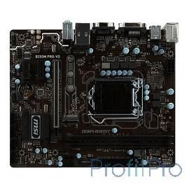 MSI B250M PRO-VD B250 2xDDR4-2133 PCI-Ex16 DVI/DSub 8ch 6xSATA3 M2 SATA-Ex 4xUSB3 GLAN mATX RTL