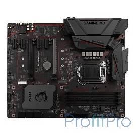 MSI B250 GAMING M3  LGA1151 ,B250 4xDDR4-2133 2xPCI-Ex16 HDMI/DVI 8ch 6xSATA3 M2 2xUSB3.1 GLAN ATX RTL