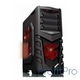 GameMax [G530R] Корпус GameMax G530 (красная, без БП)