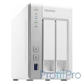 "QNAP TS-231P Сетевое хранилище 2xHDD Hot-Plug 3.5"", Dual-core CPU AL-212 1.7GHz, 1GB DDR3 RAM, 2xGbE"