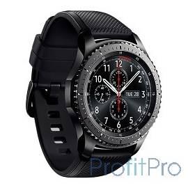 Sam. GearS3 часы SM-R760 frontier матовый титан(dark grey) [SM-R760NDAASER]