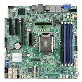 Серверная материнская плата INTEL S1200SPLR, C236, Socket 1 E3-1200 v5/v6 Family, uATX, Pedestal (DBS1200SPLR) Silver Pass